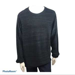 Columbia Men's Black Long Sleeved Knit Sweater